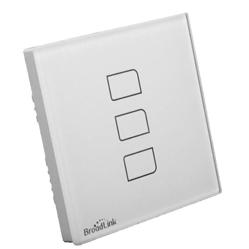 Interruptor Triple Broadlink TC2-3 Luz inteligente - Ítem5