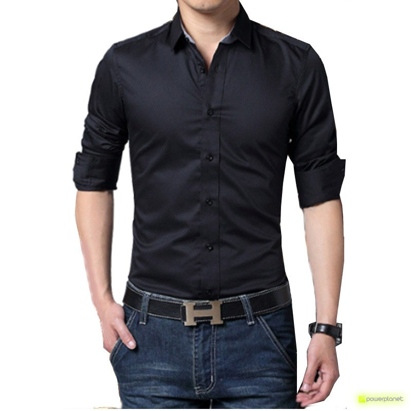Camisa Basic Line Preto - Homen - Item