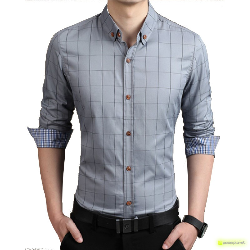 Camisa Good Line Cinza - Homen
