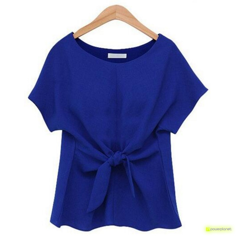 Camisa Azul Crazy Loop - Item1