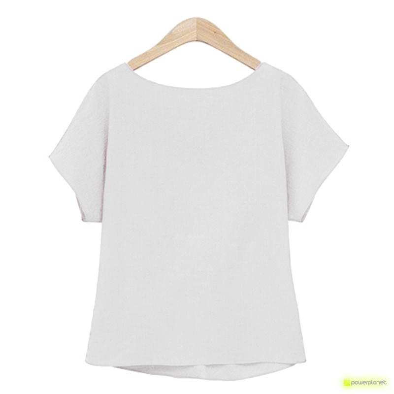 Camiseta Blanca Crazy Loop - Ítem2