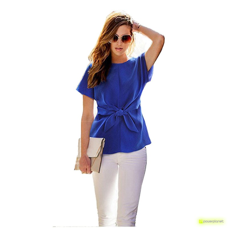Camisa Azul Crazy Loop