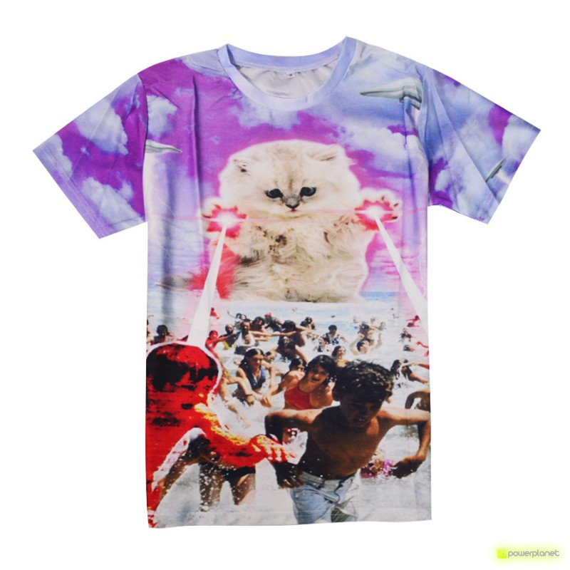 Camiseta Destroyer Cat - Item