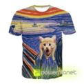 Camiseta The Scream Cat