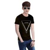 Camisa Preta Fresh Triangle