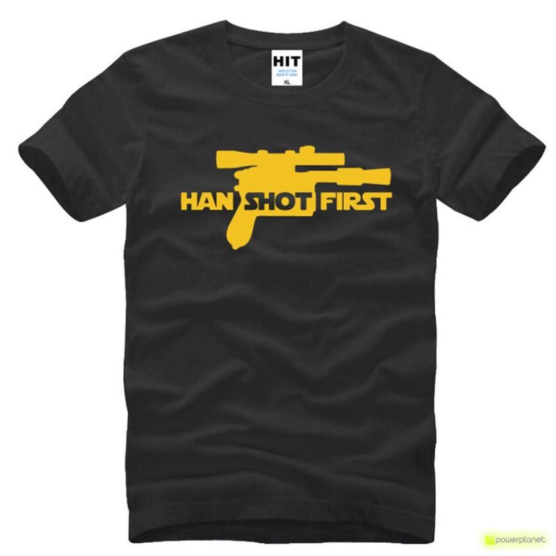 Camiseta Han Shot Firts