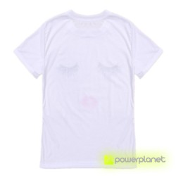 Camiseta Print Beautiful Blanca - Ítem5