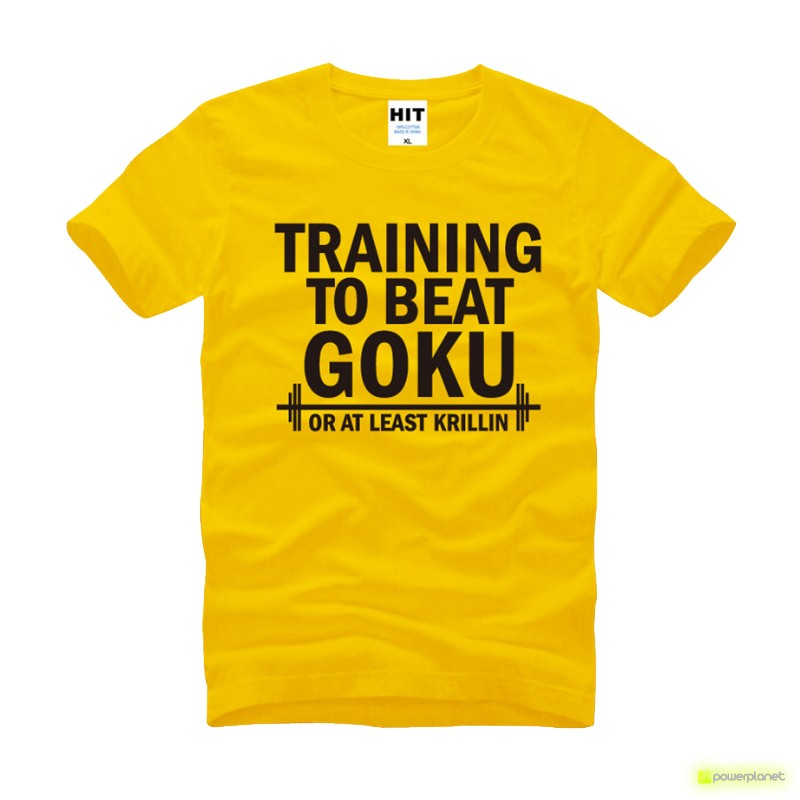 Camiseta Training to Beat Goku - Item