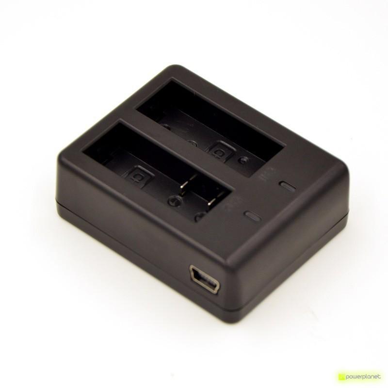 Carregador de bateria duplo para SJ4000/SJ5000/GitUp/GitUp2