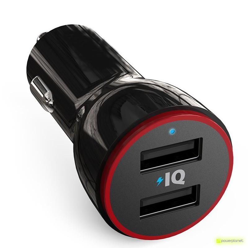 Carregador de carro 2 portos USB Mini