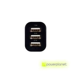 Cargador de Coche triple USB - Ítem1