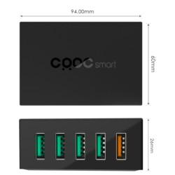 CRDC PA-T15 Cargador 5 puertos USB - Ítem2