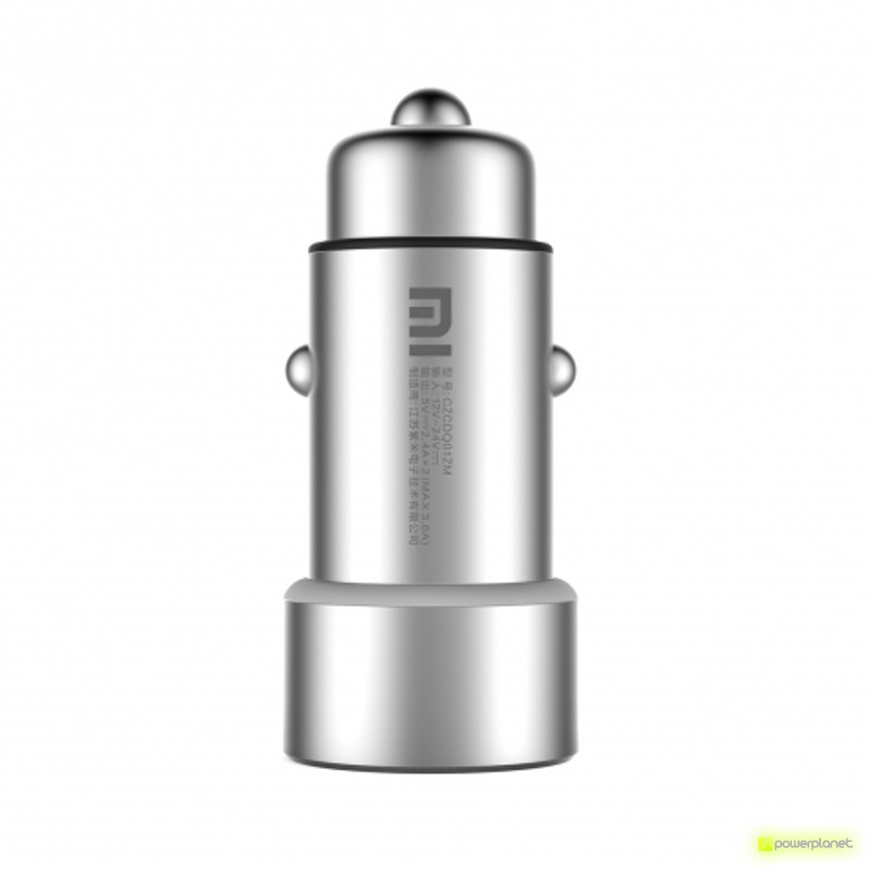 Xiaomi Carregador duplo 3.6A USB Car - Item1