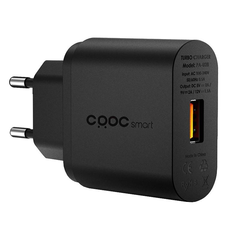 CRDC PA-U28 Cargador 18W USB 2.0