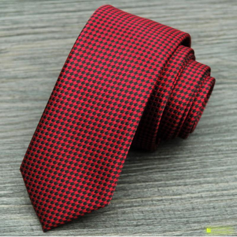 Tie Slim com diseño - Homen