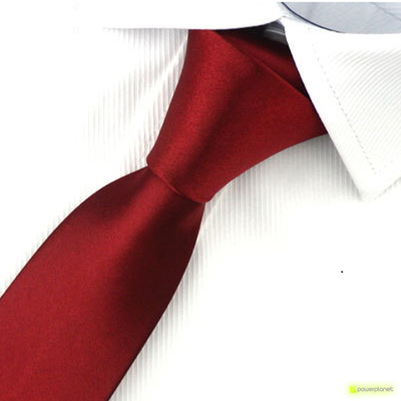 Tie Slim lisa - Homen - Item1