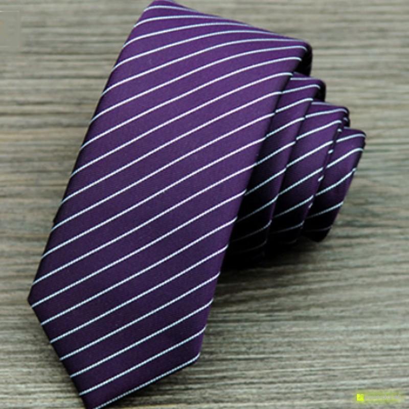 Tie Slim a listras - Homen - Item3