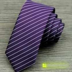 Corbata Slim a rayas - Hombre - Ítem3