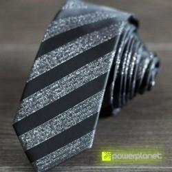 Corbata Slim a rayas - Hombre - Ítem1