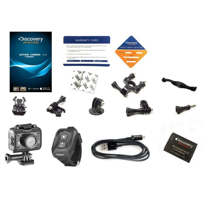 Discovery DS100 WIFI Remote Control - Action Cam - Item7