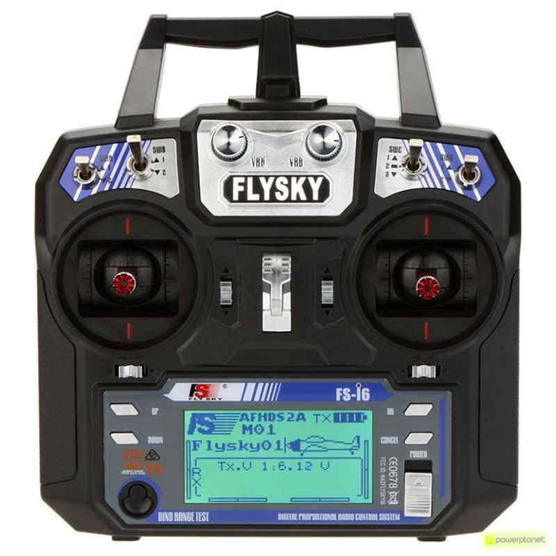 Controle Transmissor Flysky i6 RC + Receptor Eachine FS-IA6 - Item2