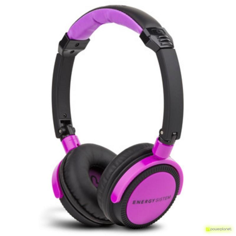 Auriculares Energy DJ 400 Black Violet