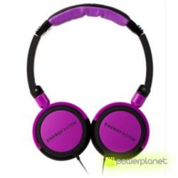 Auriculares Energy DJ 400 Black Violet - Ítem1