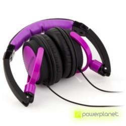 Auscultadores Energy DJ 400 Black Violet - Item3