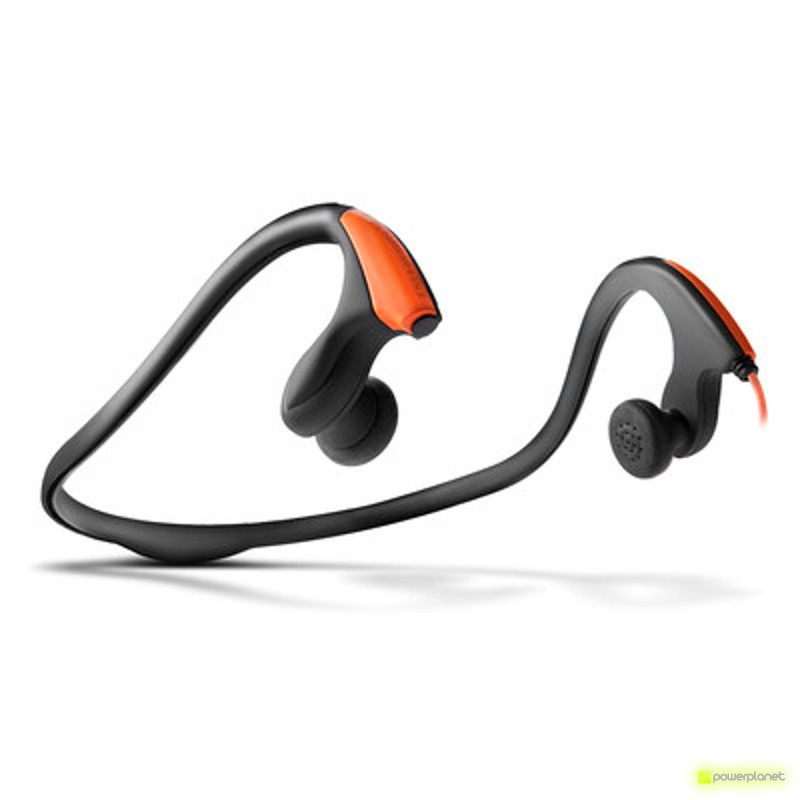 Energy Earphones Running One Neon Orange - Item