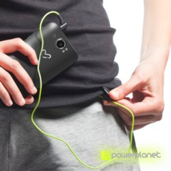 Energy Earphones Running One Neon Green Mic - Ítem2