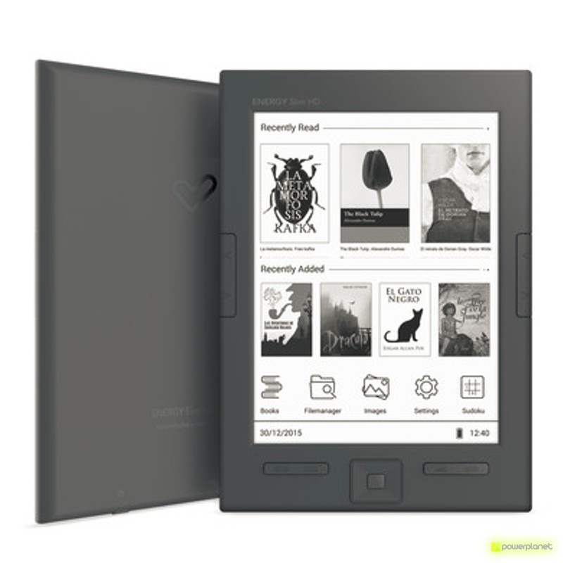 Energy eReader Screenlight - Ítem