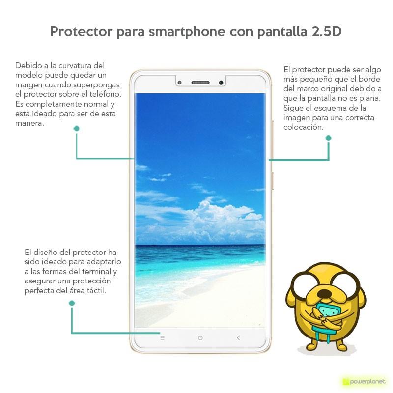 Protector Cristal Templado Xiaomi Mi Max - Ítem1