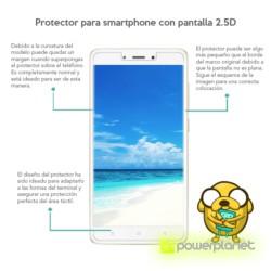 Protetor de vidro temperado Xiaomi MI5S Plus - Item1