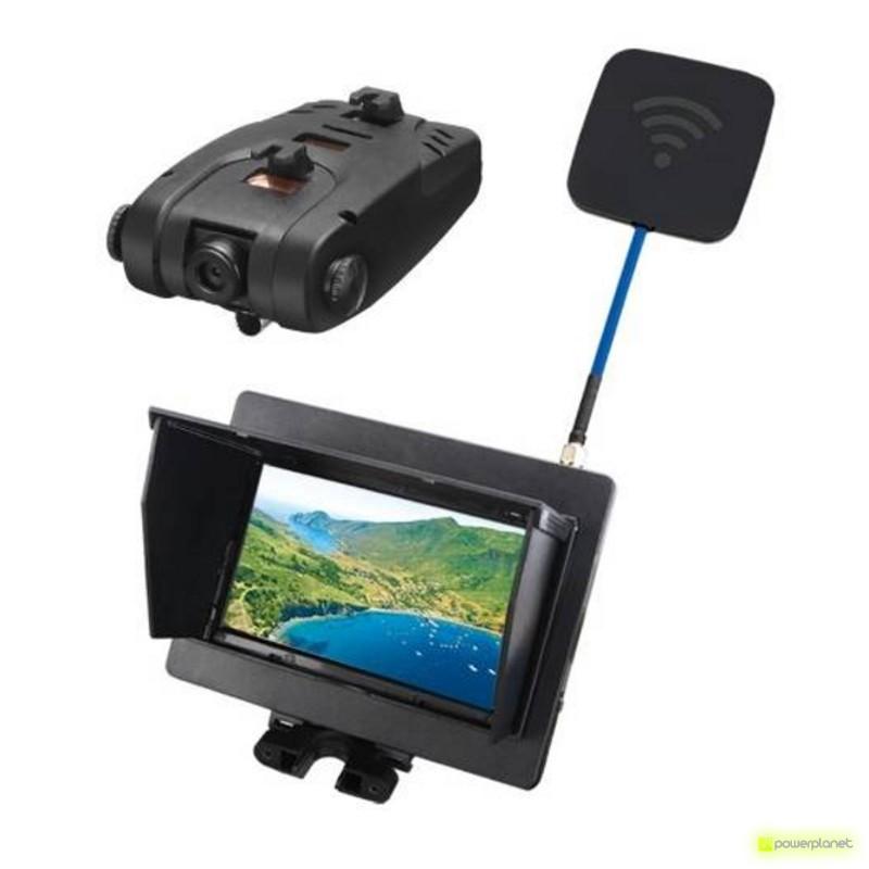 Câmera e monitor FPV Syma X5C-1