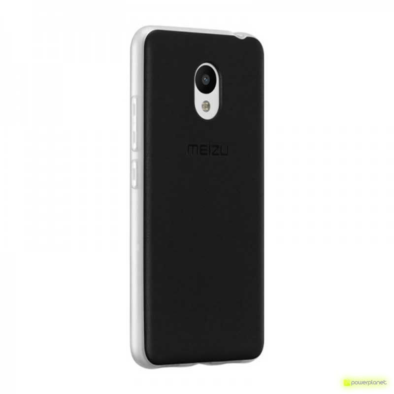 Funda de goma Frosted Meizu M3 Note