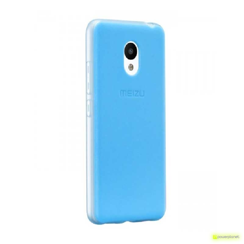 Capa Frosted Borracha Frosted Meizu M3