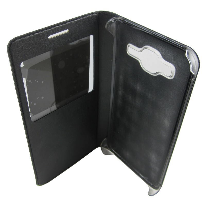 Funda tipo libro con ventana Samsung Galaxy J3 - Ítem4