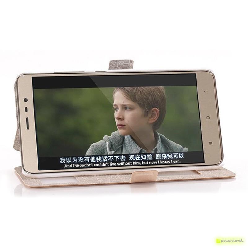 Funda Tipo Libro con Ventana Doble Xiaomi Redmi Note 3 - Ítem1