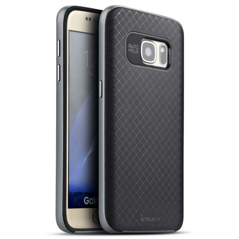 Capa de silicone Samsung Galaxy S7 Ipaky - Item2