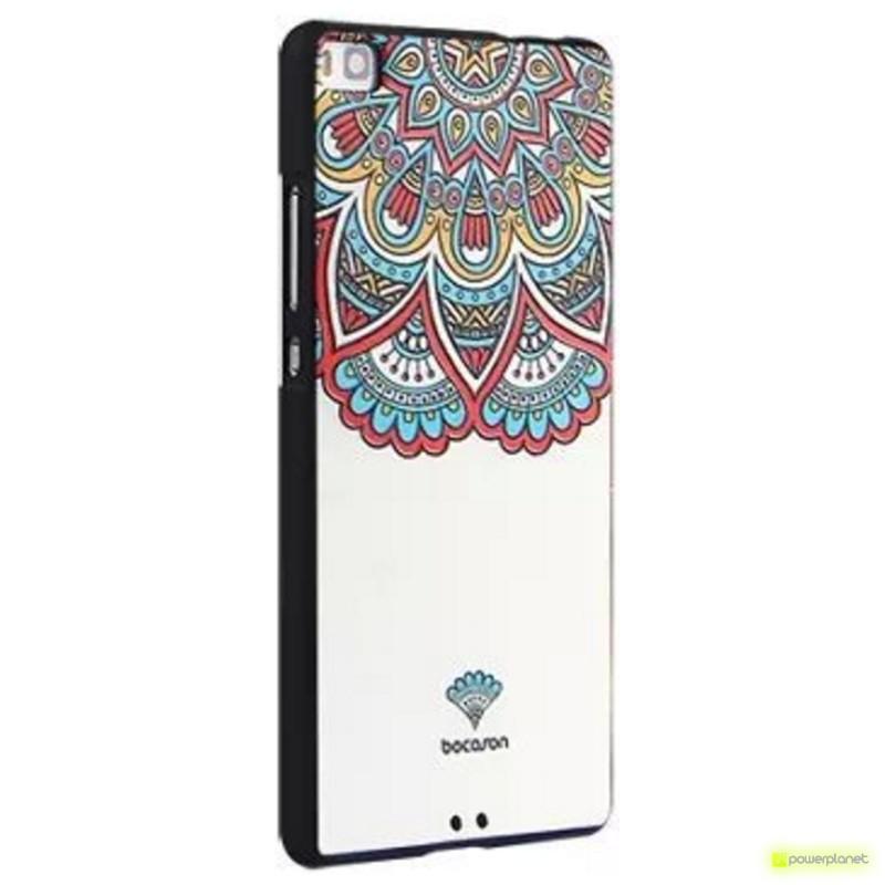 Capa de Silicona Huawei P8 com Design - Item2