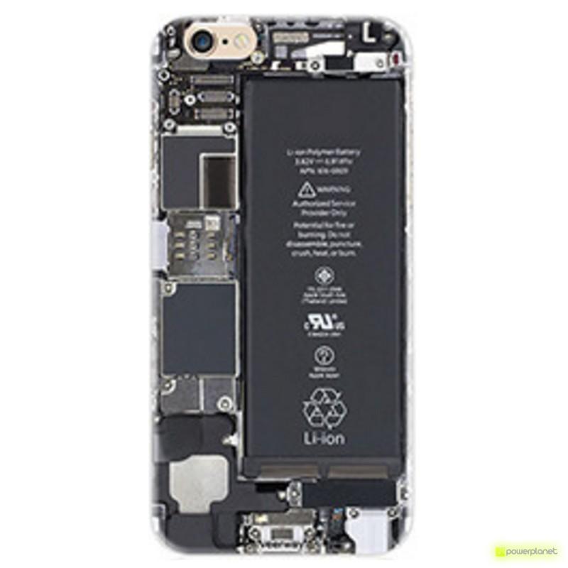 Capa de Silicona Iphone 6 com Design