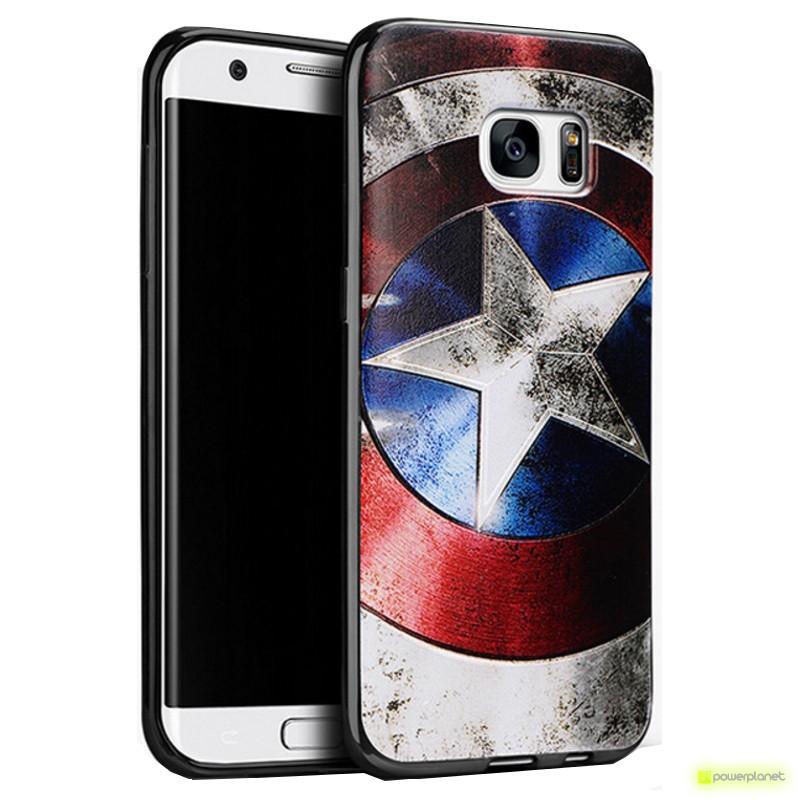 Capa de Silicona Samsung Galaxy S7 com Design