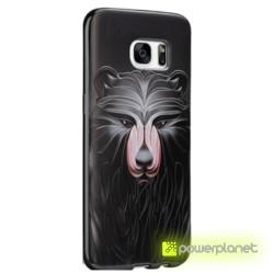 Capa de Silicona Samsung Galaxy S7 com Design - Item1