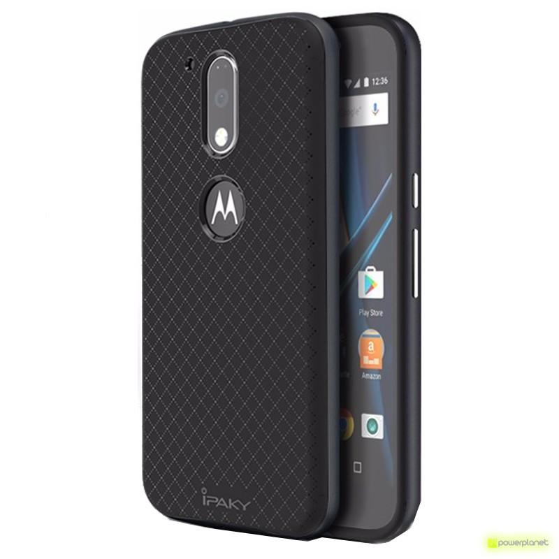 Capa de silicone Motorola Moto G4 Ipaky