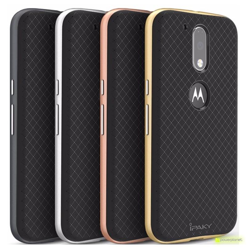 Capa de silicone Motorola Moto G4 Ipaky - Item2