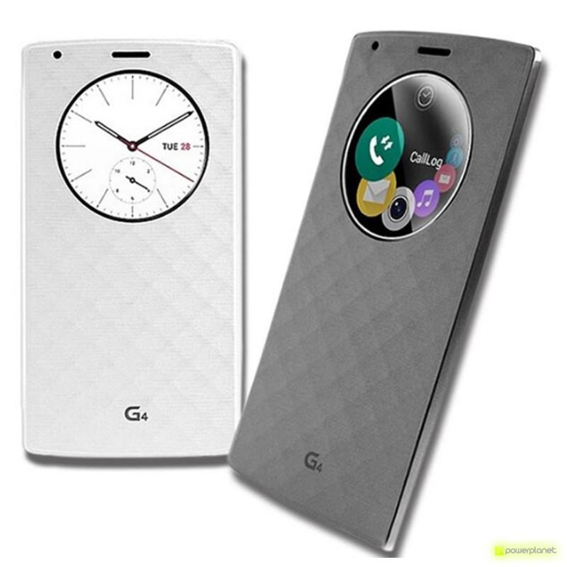 Funda Tipo Libro con Ventana LG G4