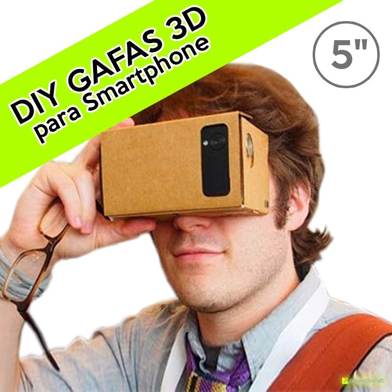 DIY Google Cardboard VR Oculos 3D para Smartphone