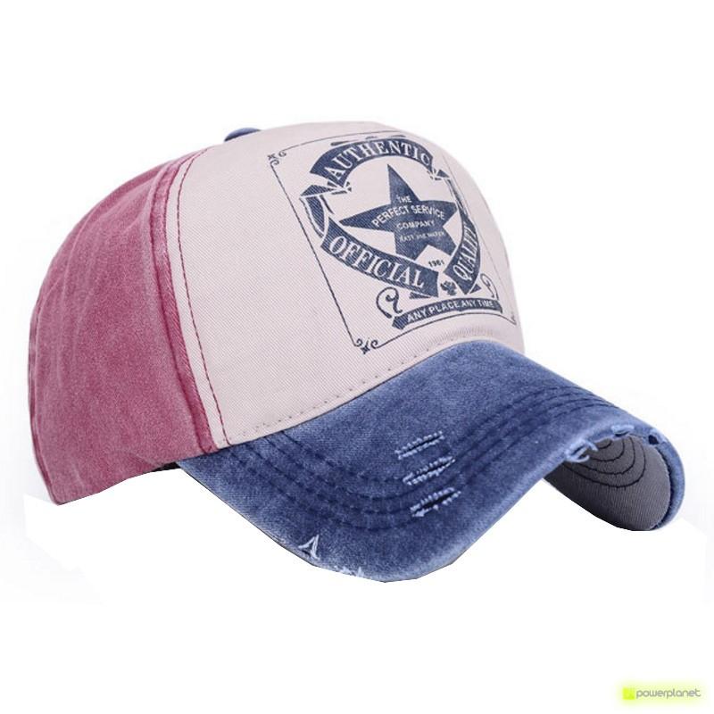 Gorra American Authentic azul y roja - Ítem1
