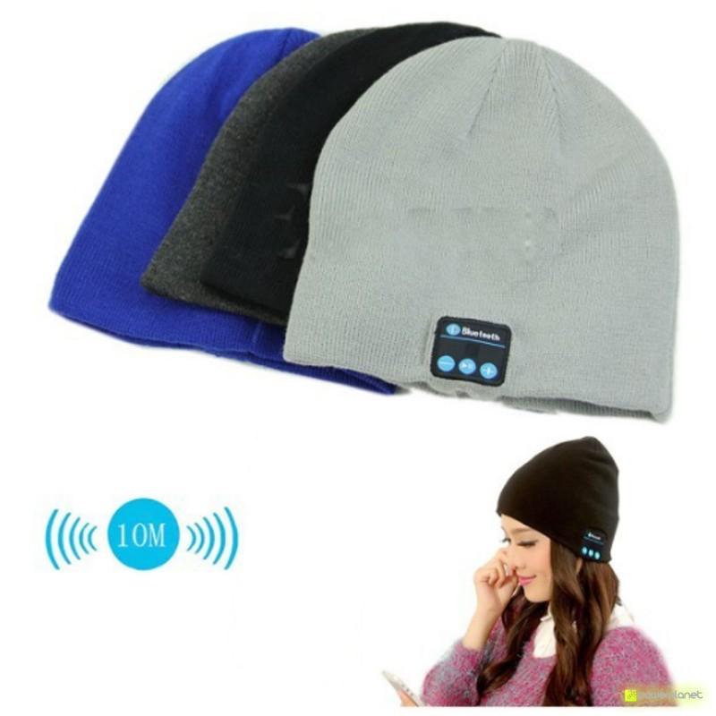 Gorro com auscultadores Bluetooth - Item4