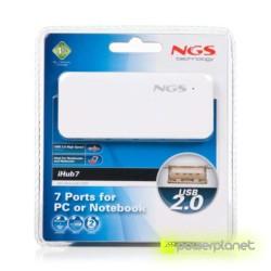 NGS iHub7 - USB 2.0 Hub com 7 portas - Item3